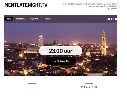 Homepage mentlatenight